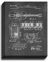 Magnetic Pickup For Stringed Musical Ins Patent Print Chalkboard on Canvas - $39.95+