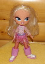 """Bratz Blonde Hair Cloe 14"""" Doll in Pink & Silver Fashion Outfit with Boots - $7.49"""