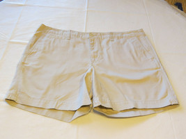 Womens Lauren Jeans Company LRL Ralph Lauren shorts off white 16 EUC@ - $37.40