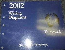 2002 Ford Mercury Villager VAN Service Shop Repair Workshop Manual Set W... - $14.80
