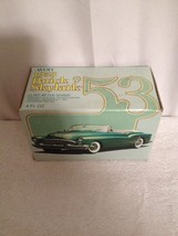 Vintage AVON 1953 Green Glass Buick Skylark Car In Original Box -Full Ne... - $16.36