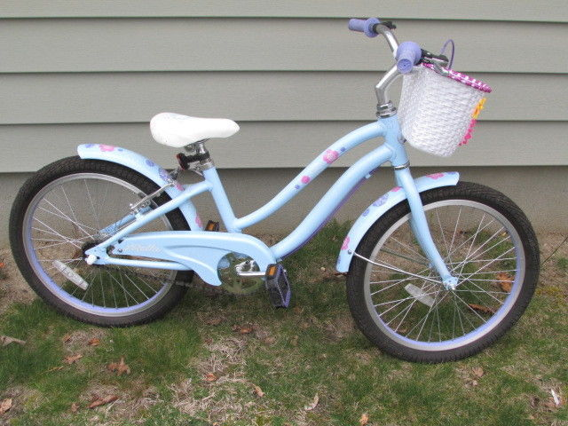 e44fced8be5 Girls Bella Bicycle Bike Light Blue With 20