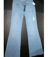 New Womens Gap 1969 Trouser Jeans NWT $70 25 0 27 X 33 Premium Medium Li... - $28.00