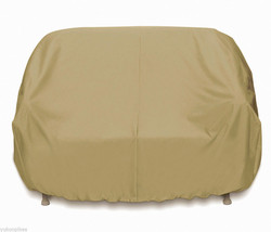 Three Seat SofaPVC Lined Heavy Poly Outdoor Cover - Khaki - $89.99