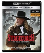 Stagecoach: The Texas Jack Story (4K Ultra HD+Blu-ray) - $9.95