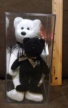 TY PIRAN the BEAR black nose BEANIE BABY - UK EXCLUSIVE+Kernow (key clip... - $16.99