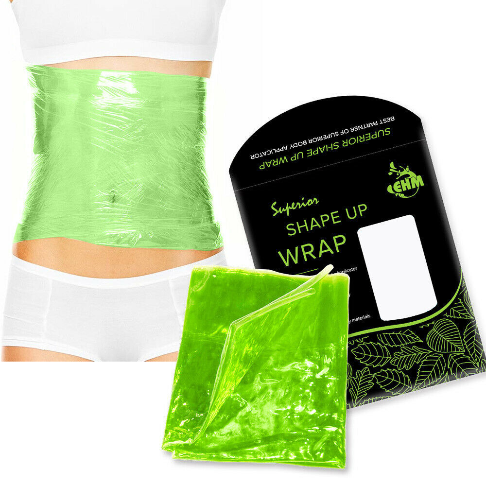 Primary image for EHM Reusable Shape Up Body Wraps Strap it works Smooth Waist Shaper Tone