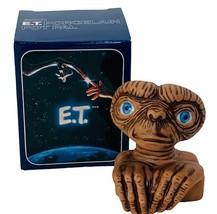 ET Extra-terrestrial Avon porcelain flower pot pal 1983 vtg alien NIB bo... - $24.70