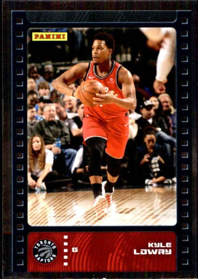 Primary image for 2019-20 Panini NBA Sticker Box Standard Size Silver Foil Insert #70 Kyle Lowry T