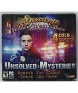 Amazing Hidden Object Games 4 Cold Cases Unsolved Mysteries PC DVD ROM G... - $15.95