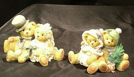ENSCO Cherished Teddies Figurines with box ( pair)  AA19-2064 Vintage image 4
