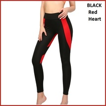 Love Heart Bottom Ladies High Waist Skin Tight Stretch Yoga Workout Leggings image 6