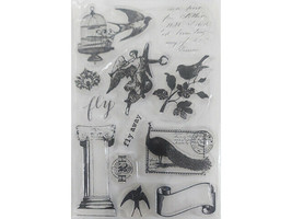 Romantic Icons Clear Stamp Set