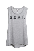 Thread Tank G.O.A.T. (Greatest Of All Time) 902Xw Women's Sleeveless Muscle Tank - $24.99+