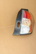 09-13 Subaru Forester Taillight Brake Light Lamp Right Passenger Side RH image 2