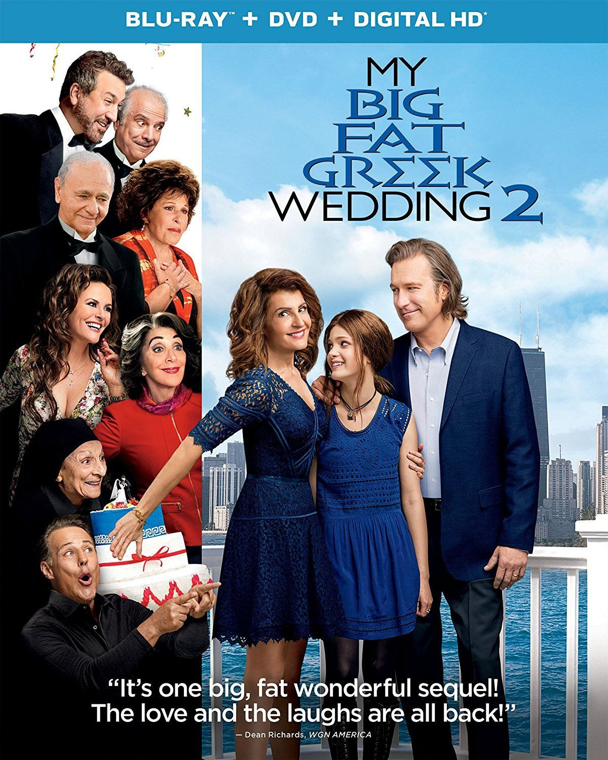 My Big Fat Greek Wedding 2 (Blu-ray + DVD)