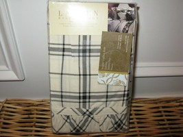 Ralph Lauren Winter Rose Tattersal Plaid King Pillowcases New - $61.06