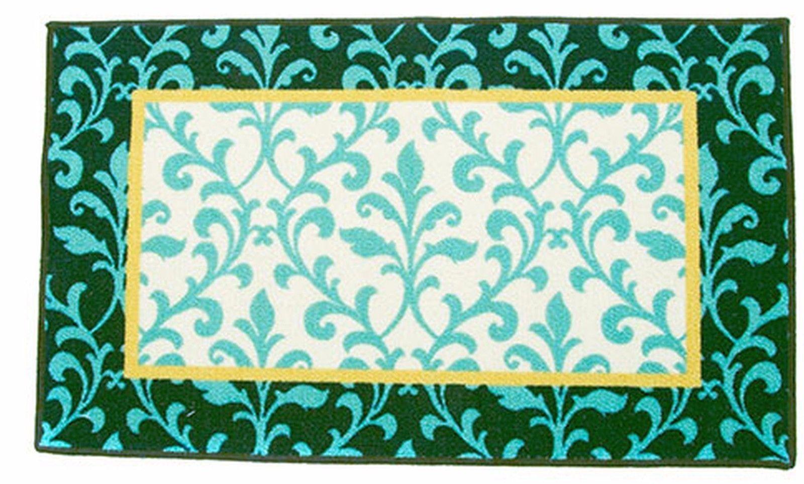 "KITCHEN PRINTED ACCENT RUG (nonskid back) (18"" x 30""), VINTAGE VINE by Waverly - $16.82"