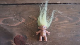 Vintage Pencil Top Yellow Hair Troll Doll - $19.80
