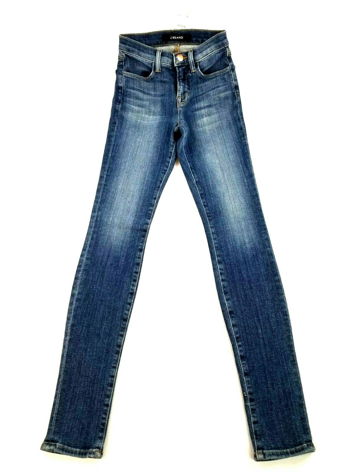 Neuf J Brand Femme Jeans Skinny Maria 23110O212 Divulgation Bleu Sz 22 Pdsf image 3