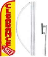 Clearance Sale Windless  Swooper Flag With Complete Kit  - $49.49