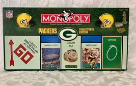 Monopoly Board Game Green Bay Packers NFL 2000 Collector's Edition  - $35.99