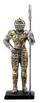 "Ebros Gift Medieval Halberdier Knight Dollhouse Miniature Figurine 4"" H Suit of  - $12.99"
