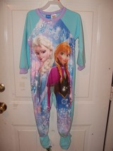 Disney Frozen Elsa and Anna Footed Sleeper Size 4T Girl's NEW HTF - $17.60