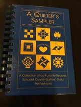 Vintage Cookbook : Schuykill County Quilters Guild - $11.00