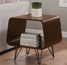 Retro End Table Mid Century Vintage Modern Tables Side Simple Storage Sh... - $224.73
