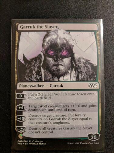 Garruk The Slayer Oversize M15 Event Promo Card
