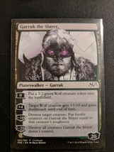 Garruk The Slayer Oversize M15 Event Promo Card - $7.23