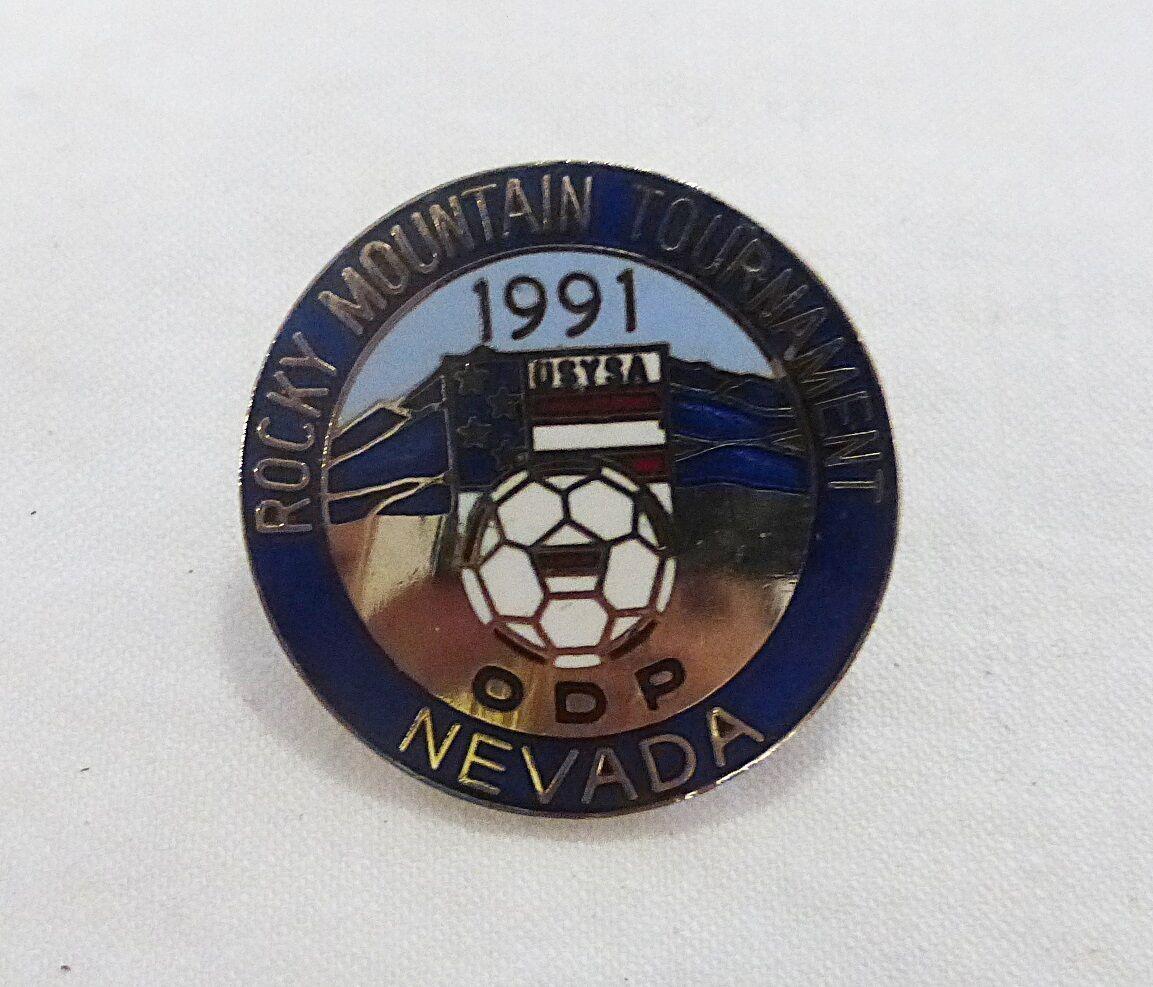 De Collection Vintage 1991 Rocky Mountain Tournoi Nevada Football Team Sports image 2