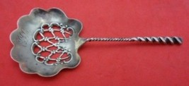 """Twist #5 by Whiting Sterling Nut Spoon 4 1/2"""" - $75.05"""
