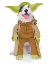 RUBIE'S DISNEY Star Wars YODA Pet Dog COSTUME Halloween NEW - £13.10 GBP