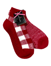 Cuddl Duds Terry Lounge Socks Women 9-11 Plush Fill Chili Pepper 2 Pairs... - $15.84