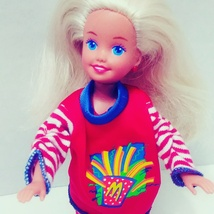 Mcdonald's Happy Meal Stacie Barbie Sister Vintage 90S Doll Toy  - $16.99