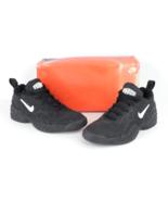 NOS Vintage 90s Nike Air Tenacity Low Basketball Sneakers Shoes Black Me... - $138.55