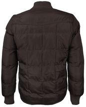 vkwear Men's Quilted Padded Insulated Heavyweight Puffer Bomber Jacket VAQ image 6