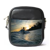 Sling Bag Leather Shoulder Bag Robert Kelly Slater American Professional Surfer - $14.00