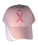 Breast Cancer Awareness BCA Pink Ribbon Baseball Cap (Pink) - $11.95