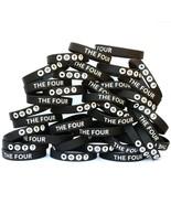 100 of THE FOUR Wristbands - Religous Inspiration Gospel Message Bracele... - $58.29