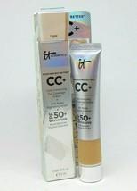 IT COSMETICS CC+ Correcting Cream + Anti-Aging Serum Light  0.4oz/12ml - $18.95