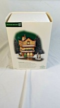 """Department 56 Dickens Village """"The Daily News"""" Christmas Building W Figures Box - $34.99"""