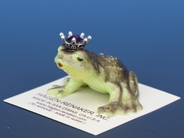 Birthstone Frog Prince Kissing February Amethyst Miniatures by Hagen-Renaker