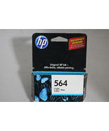 HP CB317WN 564 Photo Ink Cartridge Black Genuine OEM NEW Sealed - FREE S... - $10.84