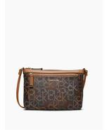 Calvin Klein Monogram Logo Zip Top Swing Bag - $39.59