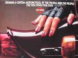 1983 Harley Davidson Brochure Super Glide II Wide Low Rider FXE FXR FXWG... - $20.79