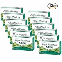 12pk - Seaweed Soap - Jabon de Algas Marinas - Grisi 3.5 Oz. X 12 Units - $19.46