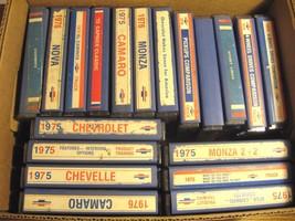 Chevrolet Dealer Technicolor 8mm Training Tapes 1975 1976 Lot (19) Camar... - $186.65